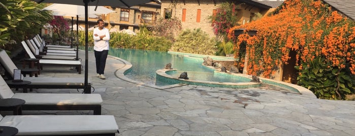 Temple Tree Resort & Spa is one of Yeti Trail Adventure.