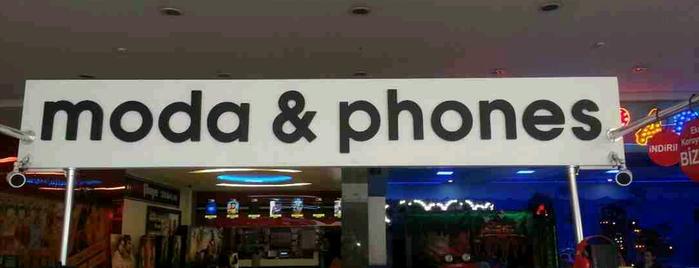 moda&phones is one of Tempat yang Disimpan Emre.
