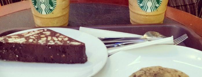 Starbucks is one of Tempat yang Disimpan Emre.
