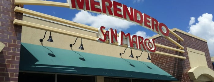 Merendero San Marcos Mexican Bar & Grill is one of Locais curtidos por Maricela.