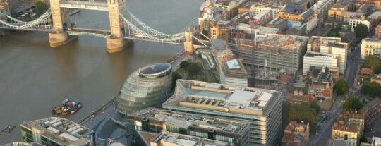 The View from The Shard is one of London list.