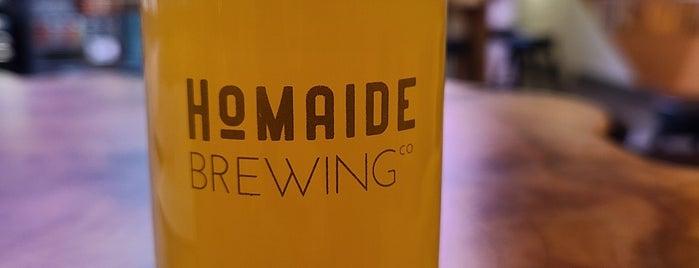 Homaide Brewing Co. is one of Posti salvati di Rachel.