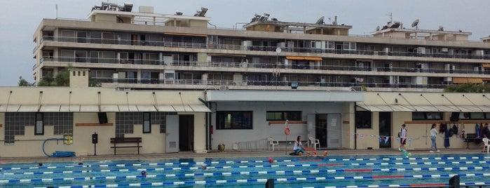 Δημοτικό Κολυμβητήριο Καλαμαριάς is one of Lieux qui ont plu à Chara.