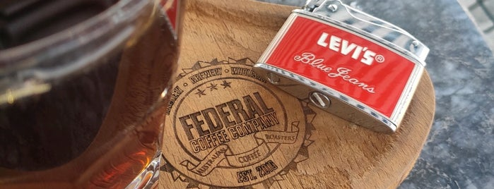 Federal Coffee Co. is one of 'Özlem'in Beğendiği Mekanlar.