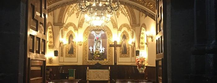 Santuario De La Virgen Del Carmen is one of Teziu.