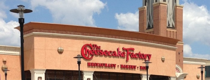 The Cheesecake Factory is one of West Des Moines.