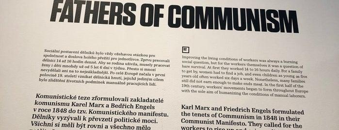Muzeum komunismu is one of BUD/VIE/PRG.