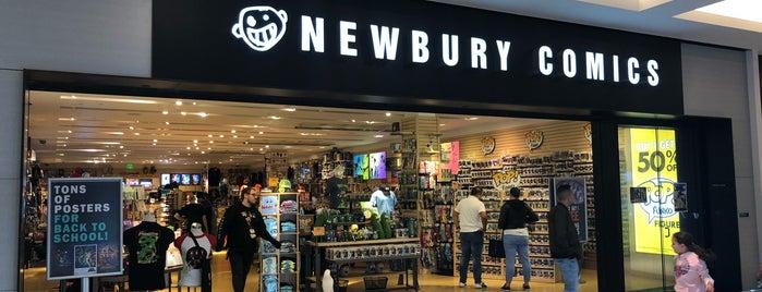 Newbury Comics is one of Tempat yang Disukai Steve.