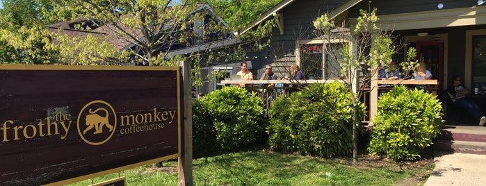 The Frothy Monkey is one of Taylor Swift's Favorite Spots in Nashville.