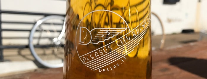 Pegasus City Brewery is one of Dallas.