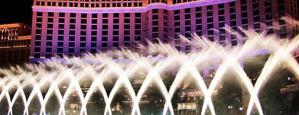 Fountains of Bellagio is one of Las Cegas musts.