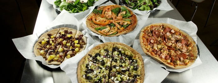 The Healthy Pizza Company is one of el pasow.
