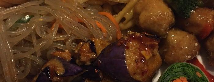 Goji Cafe is one of Gr8 Vegan Veggie Spots in DFW.