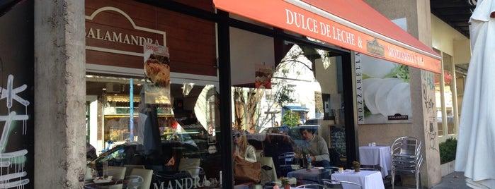 La Salamandra (Dulce de Leche & Mozzarellla Bar) is one of BsAs.