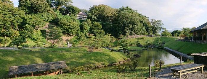Gyokusen-inmaru Garden is one of Japan - Kanazawa.