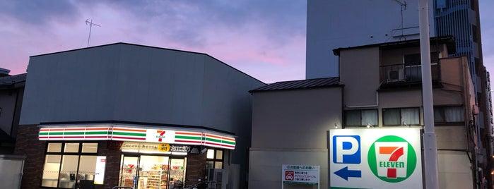 セブンイレブン 板橋東山町店 is one of Horimitsu'nun Beğendiği Mekanlar.