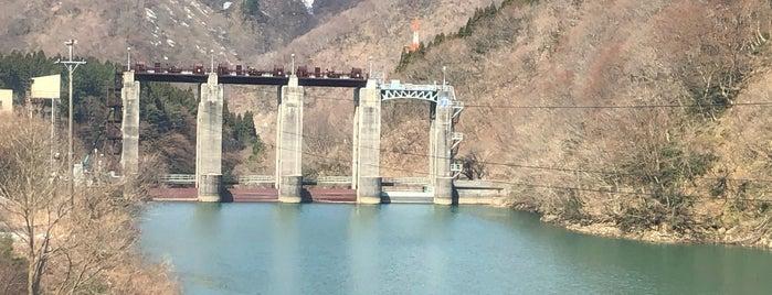 岩船ダム is one of สถานที่ที่ 高井 ถูกใจ.