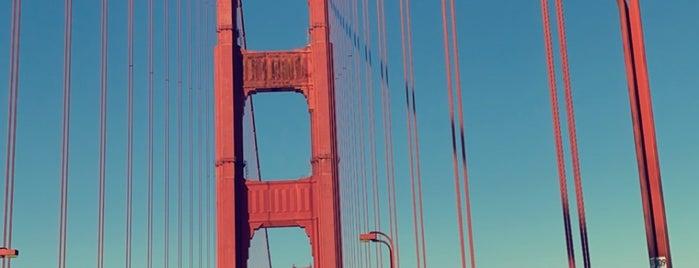 Golden Gate Bridge - Tower 1 is one of Locais curtidos por Sandybelle.