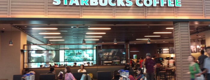 Starbucks is one of Food Court.
