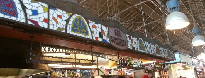 Bar Boqueria is one of Barcelona.