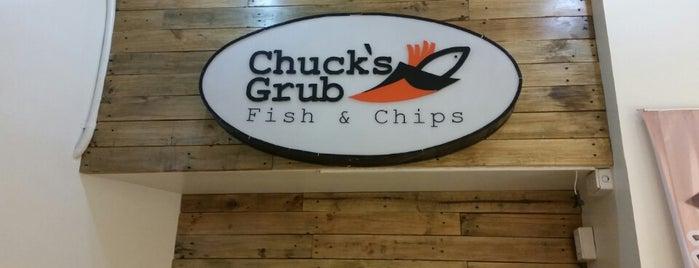 Chucks Grub Fish & Chips is one of Food: Makati.