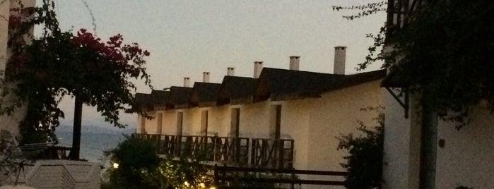 Mimoza Apart Hotel Karaburun is one of Locais salvos de NALAN.