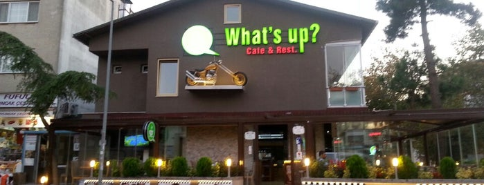 What's Up Cafe & Restaurant is one of Tempat yang Disukai Serhat.