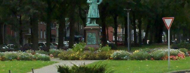 H Hansemannplatz is one of Aachen ÖPNV.