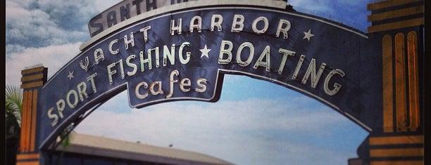 Santa Monica Pier is one of LA/SoCal.