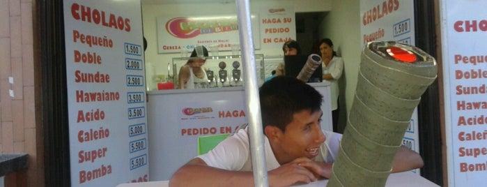 Cholaos is one of สถานที่ที่ Diego ถูกใจ.