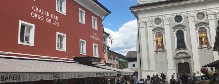 Hotel Grauer Bär / Orso Grigio is one of สถานที่ที่ Daniele ถูกใจ.