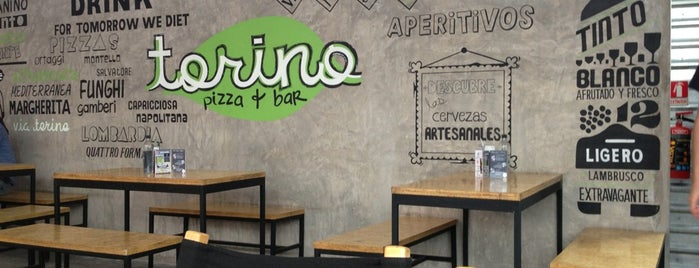 Torino Pizza Bar is one of Lugares favoritos de Cristina.