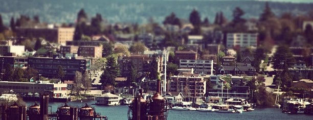 Gasworks Park Marina is one of Seattle.