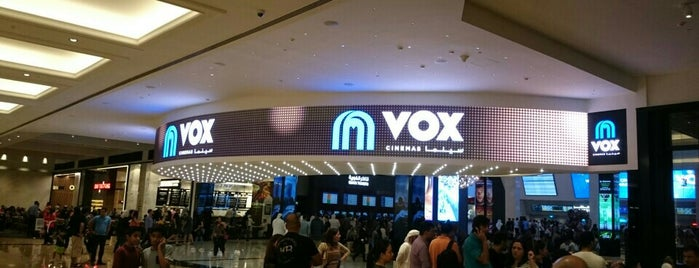 VOX IMAX with Laser is one of Dubai 2020.