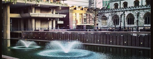 Barbican Centre is one of S Marks The Spots in LONDON.