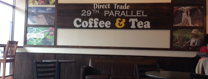 29th Parallel Coffee & Tea is one of Locais salvos de kazahel.