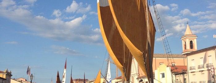 Cesenatico ponente is one of Riviera Adriatica 3rd part.