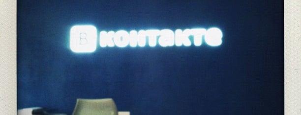 ВКонтакте is one of Григорийさんのお気に入りスポット.