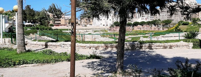 Roman Amphitheater is one of Alexandria.