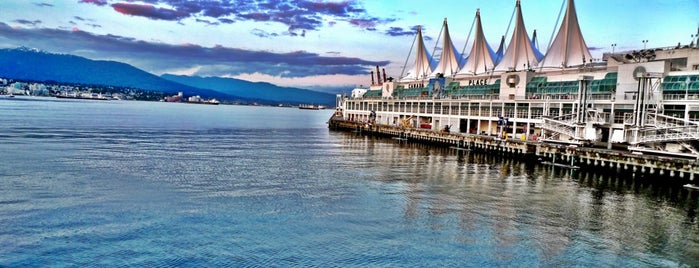 Canada Place Harbor is one of Alaska Trip.