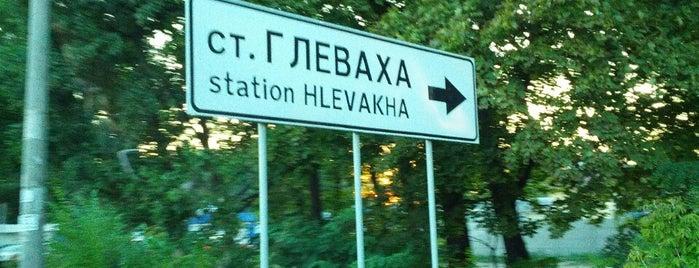 Глеваха is one of Locais curtidos por Dasha.