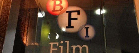 BFI Southbank is one of Favourite places in London.
