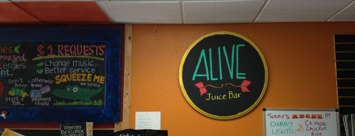 Alive Juice Bar is one of Foxxy 님이 좋아한 장소.