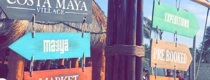 Port of Costa Maya is one of Tempat yang Disukai Jack.