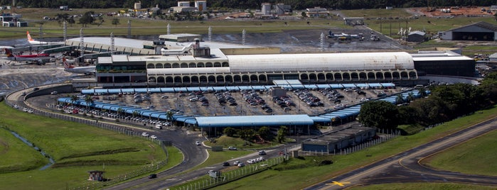 Aeroporto Internacional de Salvador / Deputado Luís Eduardo Magalhães (SSA) is one of Flavia : понравившиеся места.