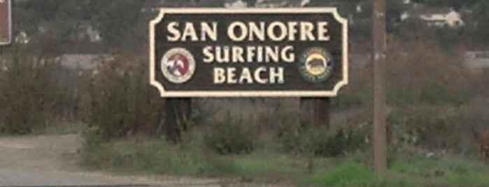 San Onofre State Beach is one of To Fly For.