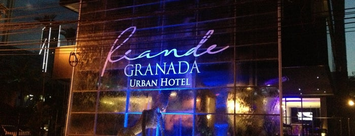 Riande Granada Urban Hotel is one of Lugares favoritos de Christian.