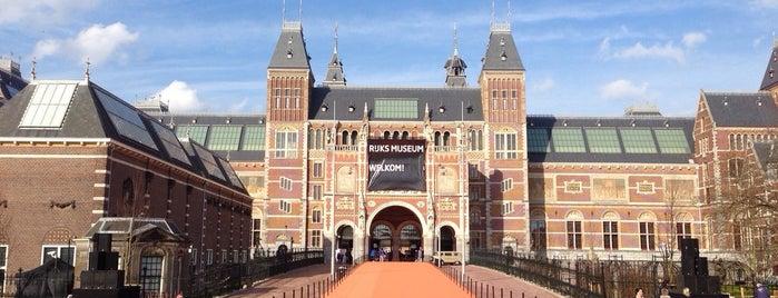 Rijksmuseum is one of Netherlands.