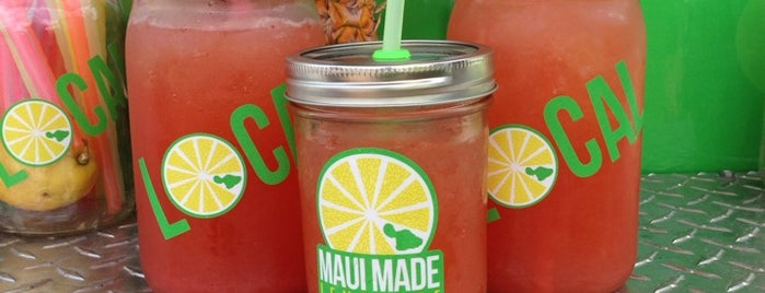 Maui Made Lemonade is one of Maui places to check out.