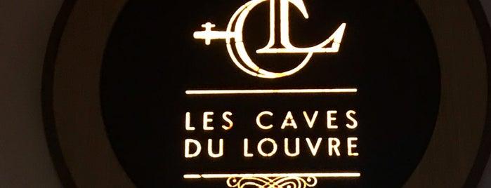 Les Caves du Louvres is one of Tempat yang Disukai Onur.